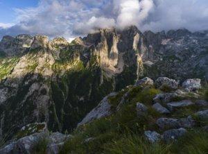Timelapse bergen Montenegro