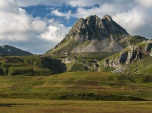 Timelapse vallei Montenegro