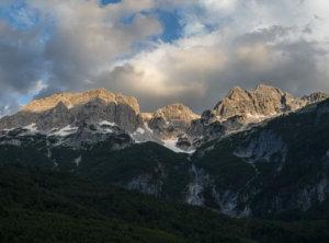 Zonsondergang Montenegro