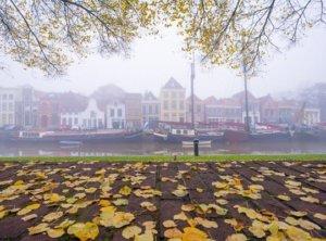 Zwolle In Fog