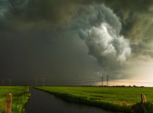 Timelapse onweer
