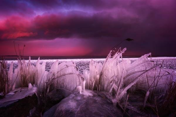 Timelapse winter randmeren