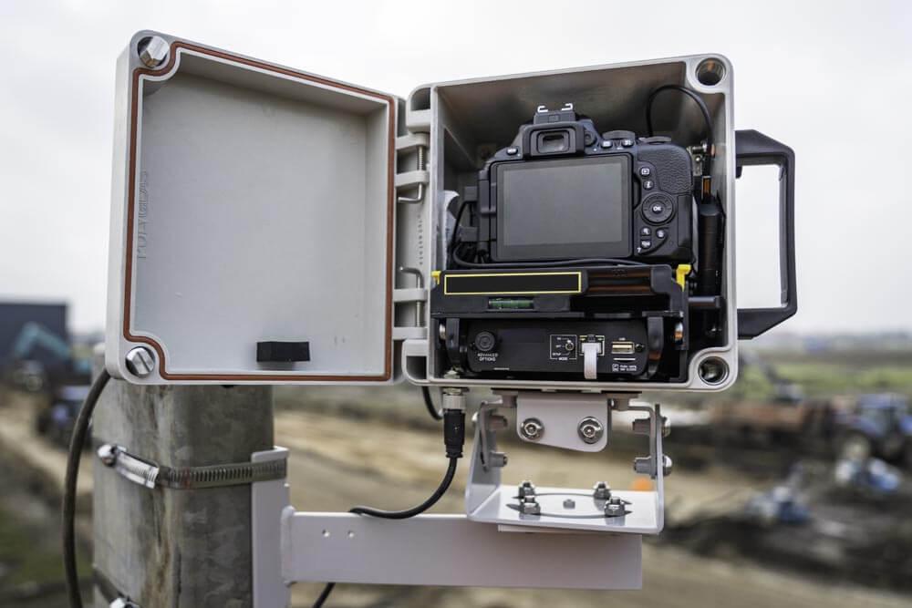 bouw timelapse camera
