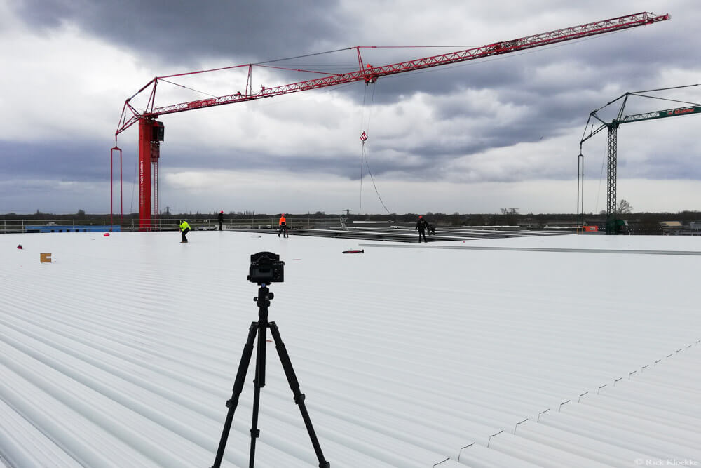timelapse bouwproject